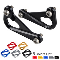 NICECNC Billet Aluminum Anodized Left Right Racing Hooks For BMW S1000R S 1000R 2014 2017 2015 2016 S1000RR S 1000RR 2010 2017