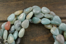 1 strand 12x16mm Mix color Amazonite Stone Pear Beads fit fashion jewelry making