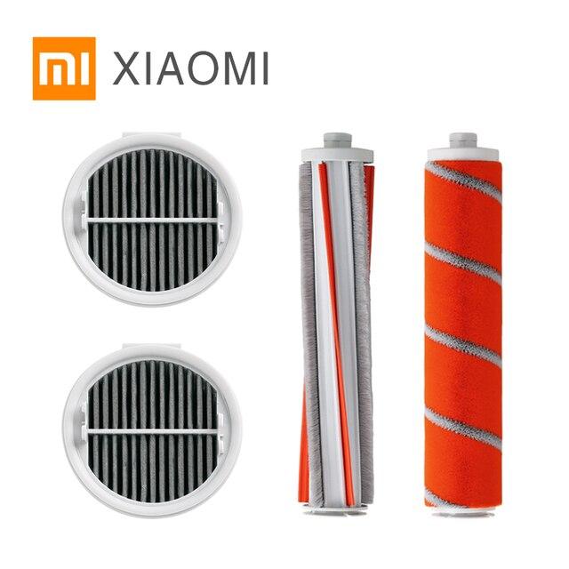 Original XIAOMI ROIDMI F8 Part Pack Handheld Vacuum Cleaner Spare Parts Kits HEPA Filter Roller brush Soft Fluff Carbon fiber