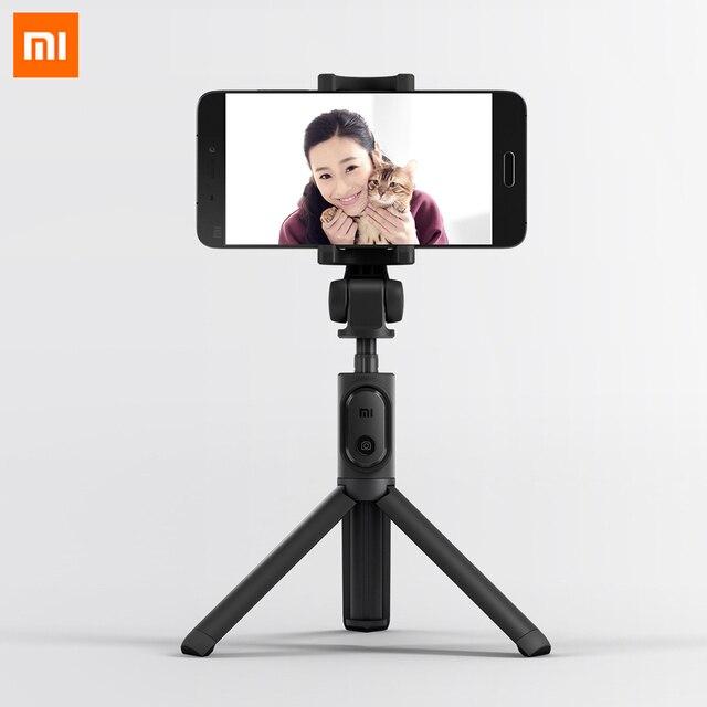 オリジナル Xiaomi 折りたたみ三脚一脚 Selfie スティック Bluetooth ワイヤレスボタンシャッター Selfie スティック Xiaomi/iOS/アンドロイド
