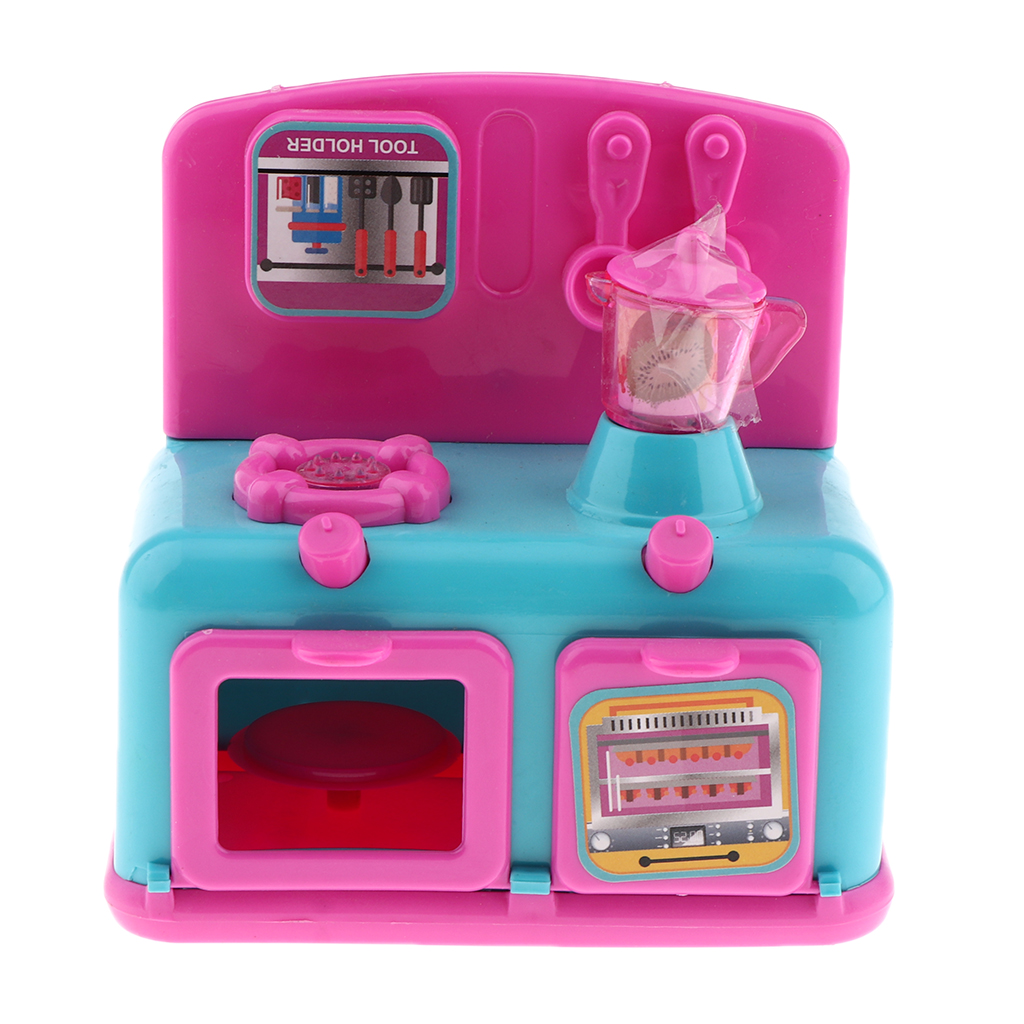 Us 9 11 45 Off Play Kitchen Toys Mini Kitchen Appliances Electric Burner Stovetop With Oven Kitchen Utensils Kitchen Playset Random Color In Kitchen