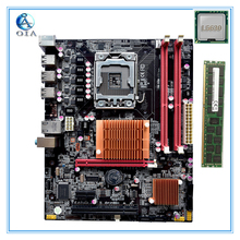New motherboard x58  with L5630 CPU+4G RAM 6*USB2.0 port support ecc ram  LGA 1366 DDR3 ATX mainboard  free shipping