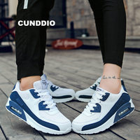 2018 spring women casual shoes Couple air cushion Vulcanized Shoes platform shoes women sneakers Ladies Trainers chaussure femme