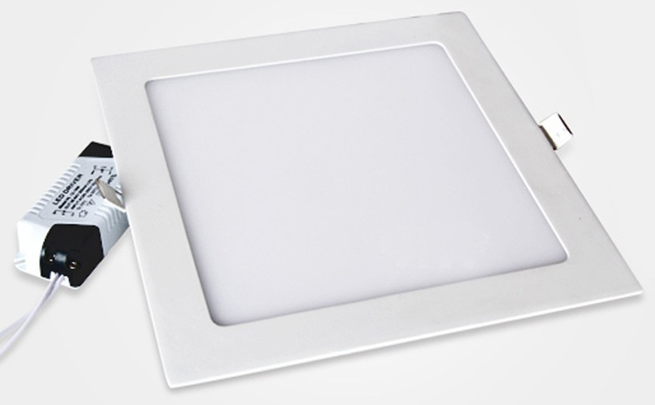 25W Square LED Panel Light Recessed Kitchen Bathroom Ceiling Lamp AC85-265V LED Downlight Warm WhiteCool White Free shipping (18)