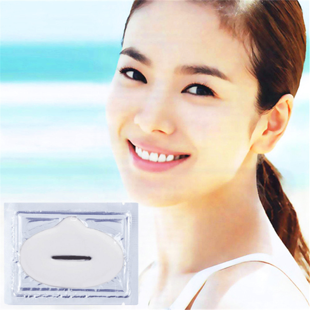 1pcs Women Crystal Collagen Lip plumper Moisture Essence Mask for lips Anti Ageing Wrinkle Patch Pad