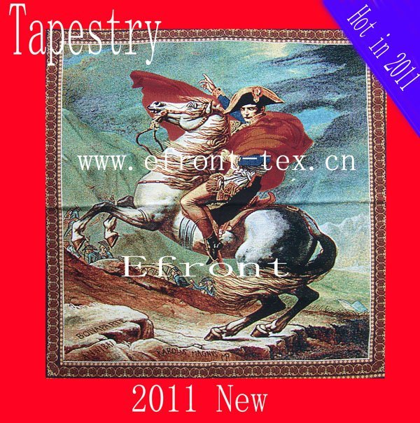 100% cotton 138**170cm factory direct sale jacquard tapestry wall hanging Napoleon