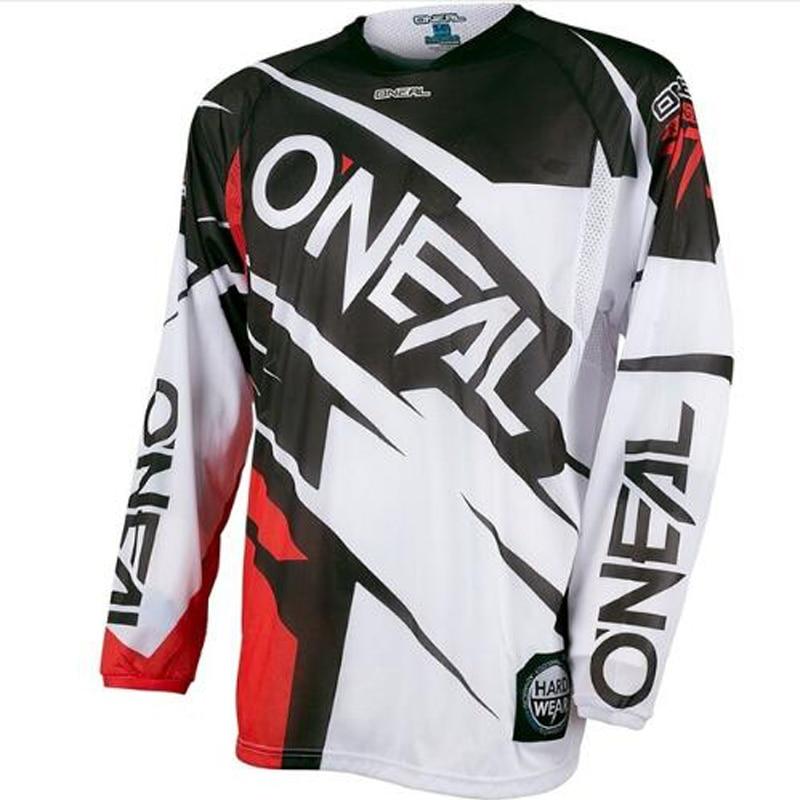 Prix pour Descente Vélo course manches longues Jersey DH MX VTT vélo vêtements Hors-route Motocross racing chemise maillot de ciclismo 2017 Vente