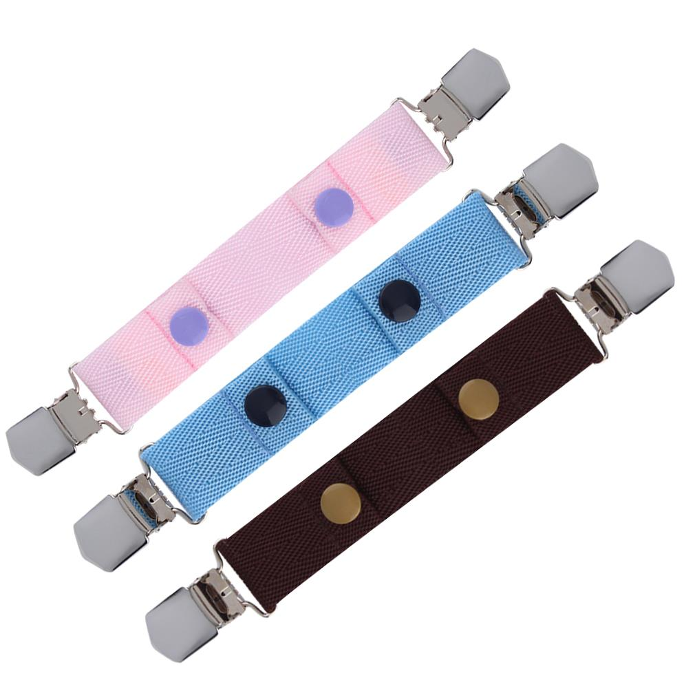 High quality Comfortable Children Kids Jeans Pants Canvas Adjustable Belt Elasticated Buckle Clip Belts