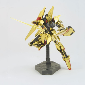 Image 3 - DABAN Model 1/144 HGUC Gold Plated Delta DELTA GUNDAM Out of Print Rare Spot Deformable Action Figure Kids Assembled Toy Gifts