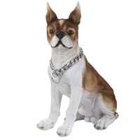 Training Choker for Puppy Dog Chain 316L Stainless Steel Dog Collar Silver Curb Cuban Link Bulk Fashion Jewelry 13mm LDC01