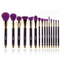High Quality 15pcs Makeup Brushes Synthetic Hair Soft Eye Shadow Foundation Eyebrow Lip Brush Makeup Brushes