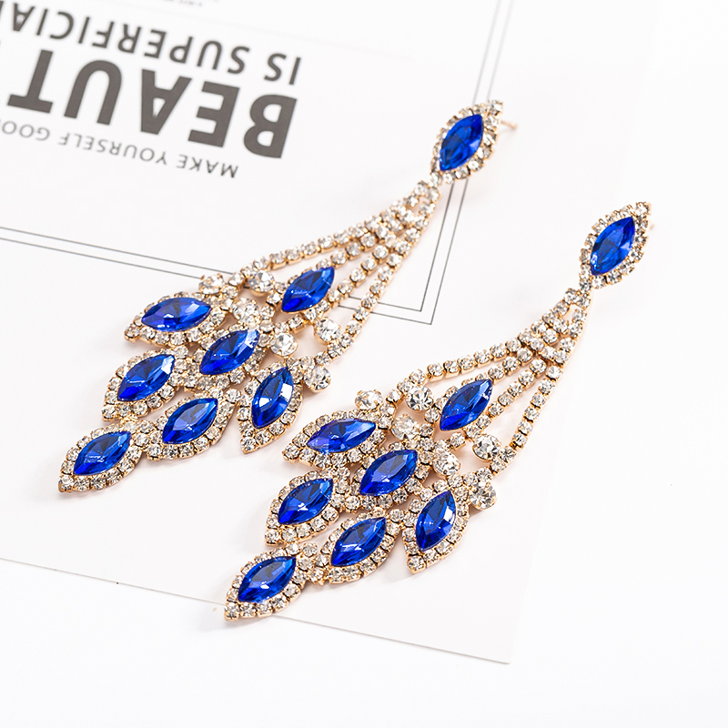 multicolor-water-drop-earrings-for-wedding-party