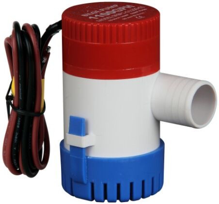 Free Shipping 12V <font><b>1100</b></font> <font><b>GPH</b></font> Boat/Marine <font><b>Bilge</b></font> <font><b>Pump</b></font> Submersible Water <font><b>Pump</b></font> for Yacht TP-1100GPH image