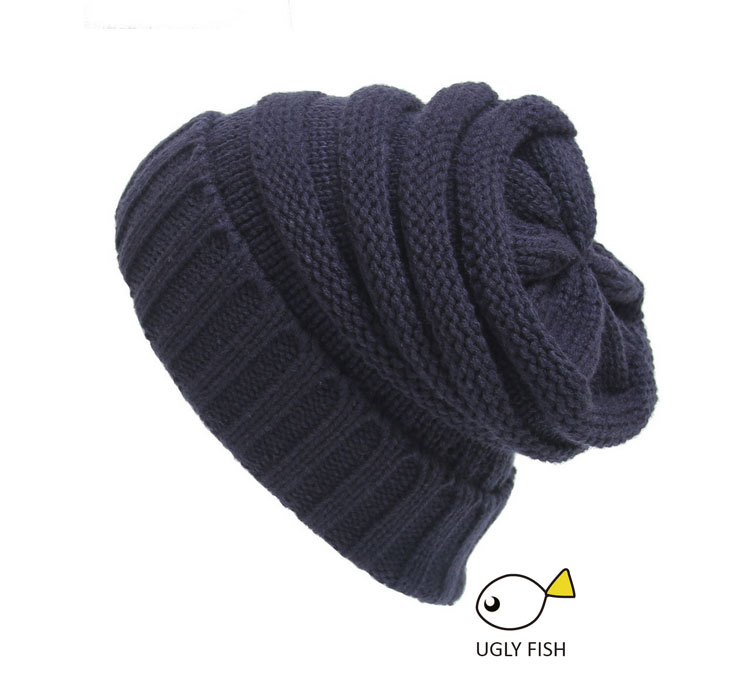 fa173a0e5e5e03 ... Trendy Warm Chunky Soft Stretch Cable Knit Slouchy Beanie Skully HAT  (6) ...