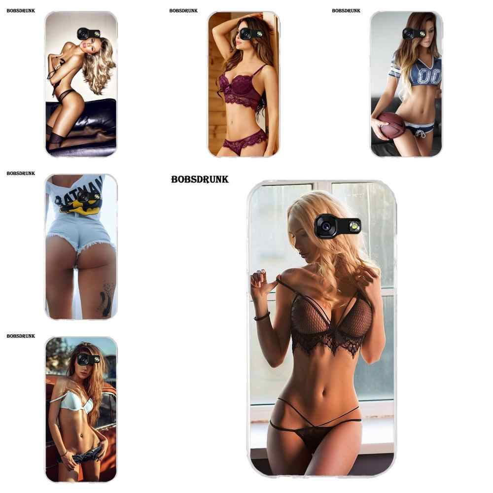 EJGROUP Soft TPU Case Cover Hot Sexy Girl Printing Fitted For Samsung Galaxy A3 A5 A7 J1 J2 J3 J5 J7 2015 2016 2017