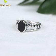 Кольцо женское из серебра 925 пробы Агатовая цепочка