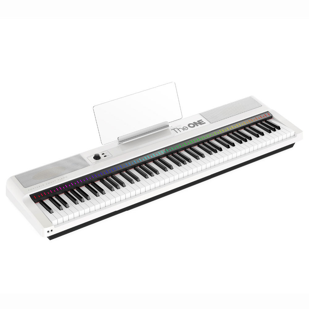 the one 88 key portable light keyboard weighted keys electronic organ midi keyboard in. Black Bedroom Furniture Sets. Home Design Ideas