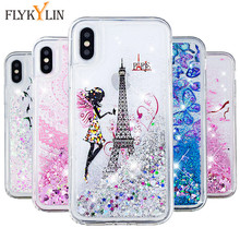 XS MAX Case on for iPhone Xs max XR X Cover for iPhone 6 6s 5s SE 7 8 Plus Fundas Silicone Butterfly Liquid Dynamic Phone Cases