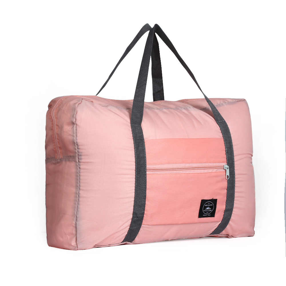 31a2c7e800 Korean Style Foldable Suitcase Tote Women Travel Storage Luggage Big  Packing Carry-on Organizer Hand