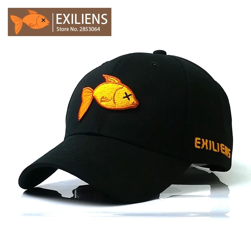 [EXILIENS] Baseballmütze New Fashion Echte Marke Top Baumwolle - Bekleidungszubehör