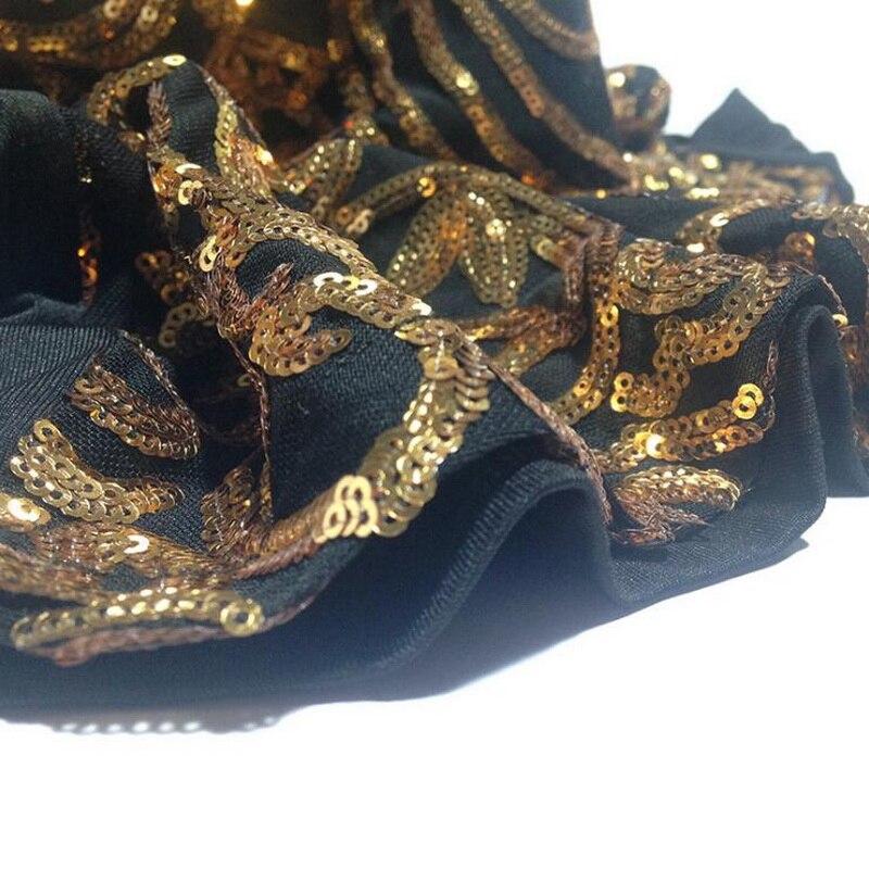 Crystal Sequin Dress Elegant Backless Gold