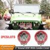 2PCS 5INCH 60W LED WORK LIGHT SPOT FLOOD BEAM FOG LAMP FOR OFFROAD MACHINERY 4WD ATV