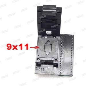 Image 2 - BGA63 محول جيئة وذهابا RT809H V2.0 EMMC NW267 RT BGA63 01 محول ل RT809H مبرمج 9*11 المحدد إطار