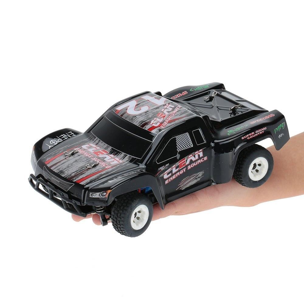 Mais novo A232 1/24 2.4g Escovado 4WD Curso De Curta Duração Elétrica RTR RC Carro Off road De Buggy RC Carro de Drift brinquedos para as crianças vs A979 L202 - 4
