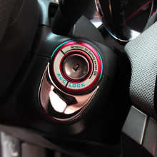 Interrupteur dallumage 3D, autocollant, couvercle dallumage, lueur, accessoires automobiles Opel astra h j g mokka insignia zafira corsa
