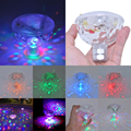 Juguete del Baño del bebé Baño LED Luz Niños Juguetes Divertidos Juguetes de Baño Impermeable Colorido Bañera De Plástico Hermética Luz 2016