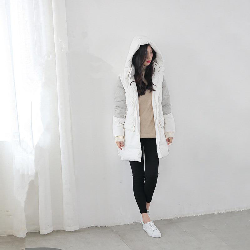 ФОТО Women's Winter Quilted Puffer Parkas Coat Lightweight Fleece Inside Fashion Packable Full Zip Lined Long Outwear With Hood