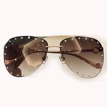 Women Sunglasses Brand Designer High Quality with Packing Box Oculos De Sol Feminino UV400 Mirror Lens Sun Glasses