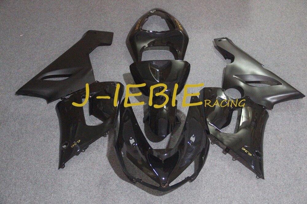 Black Injection Fairing Body Work Frame Kit for Kawasaki NINJA ZX6R ZX6 ZX 6 R 2005 2006