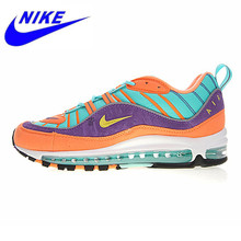 new style 12071 05531 NIKE AIR MAX 98 QS Men s Running Shoes Shock Absorption Breathable  Wear-resistant
