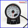 "2.5"" 60MM DF Advance CR Gauge Meter Oil Temp Gauges White Face with Sensor"