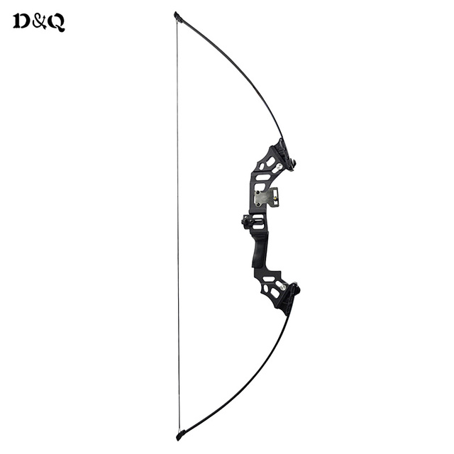 D&Q Archery Recurve Bow 30 40 lbs Powerful Hunting Fishing Shooting Adult Right Hand Takedown Straight Bow Longbow