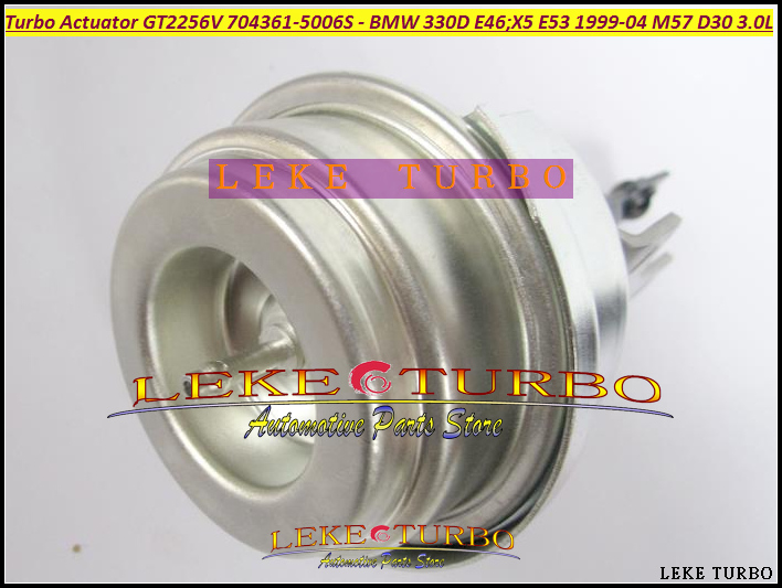 Free Ship <font><b>TURBO</b></font> Wastegate Actuator GT2256V 704361-0005 704361-0006 704361 Turbocharger For BMW 330D E46 X5 E53 M57D <font><b>M57</b></font> <font><b>D30</b></font> 3.0L image
