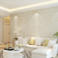 סריג חדש חם Modern תקציר טפטים חמה חדר שינה סלון קיר נייר שאינו ארוג רגיל אופנה בסגנון קוריאני טלוויזיה רקע