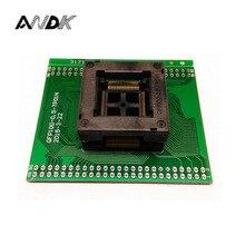 FQFP100 TQFP100 QFP100 a DIP100 Presa di Programmazione OTQ 100 0.5 09 Passo 0.5mm IC Corpo Dimensioni 14x14mm Presa di Prova