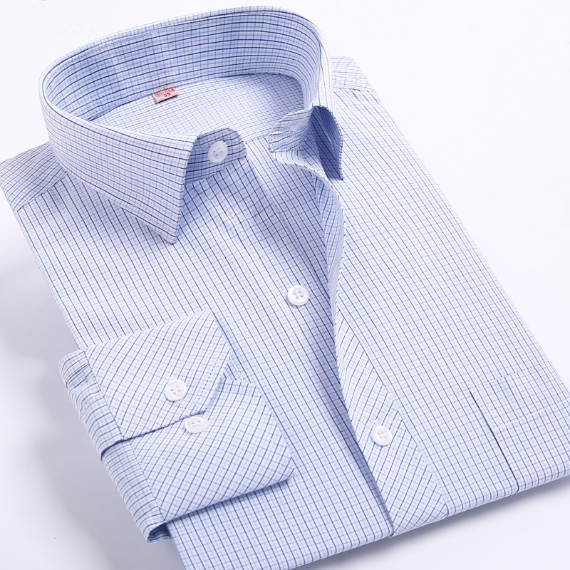 New Arrival Spring&Autumn Men's Plaid/Striped Shirts Men's Leisure Style Casual Shirts Comfortable Fabrics Brand Men's Clothing
