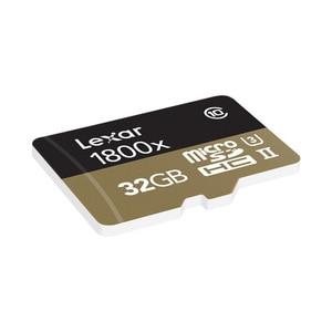 Image 3 - 100% 원래 lexar 마이크로 sd 카드 1800x tf 플래시 메모리 카드 32 gb sdxc 270 메가바이트/초 카타오 드 memoria 클래스 10 u3 microsd 카트