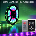 DC12V 5M 6803 IC Dream Magic Color LED Strip 5050 RGB 6803 LED Strip Light IP67 Waterproof 133 Program 6803 controller