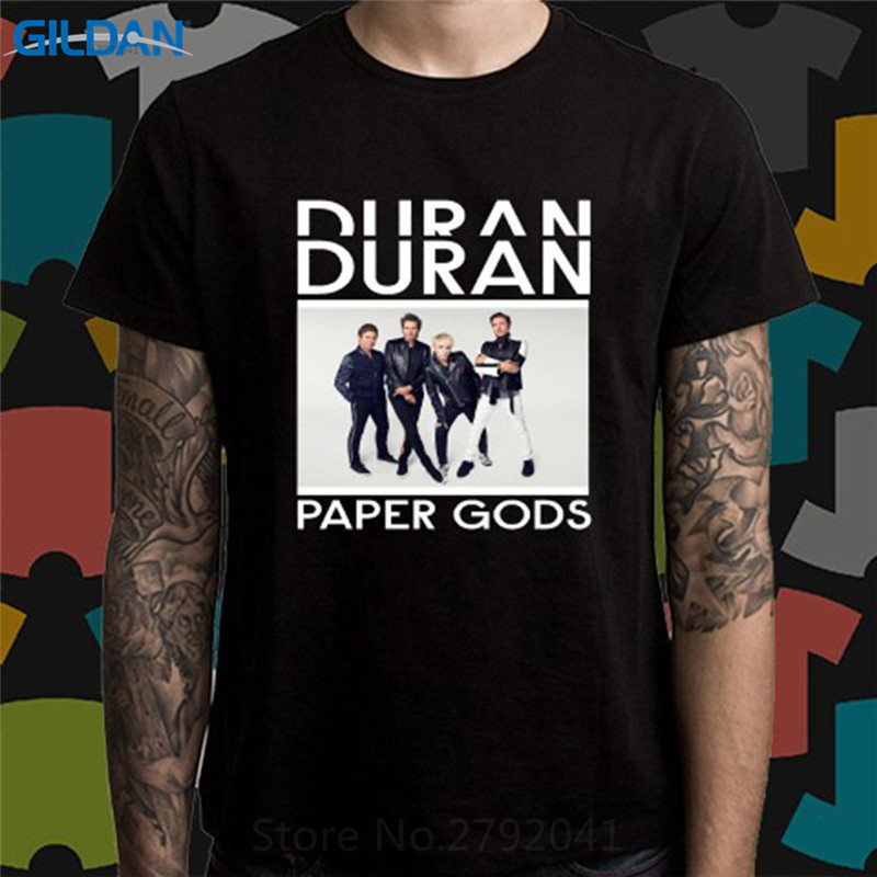 Tee Shirts For Sale Short Printed Graphic Duran Duran Pap Gods O-Neck Mens Tee
