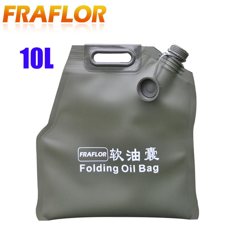 10Litre Portable Petrol Cans Spare Oil Storage Fuel Tank Gasoline Bucket Jerry Can Jerrycan For Offroad