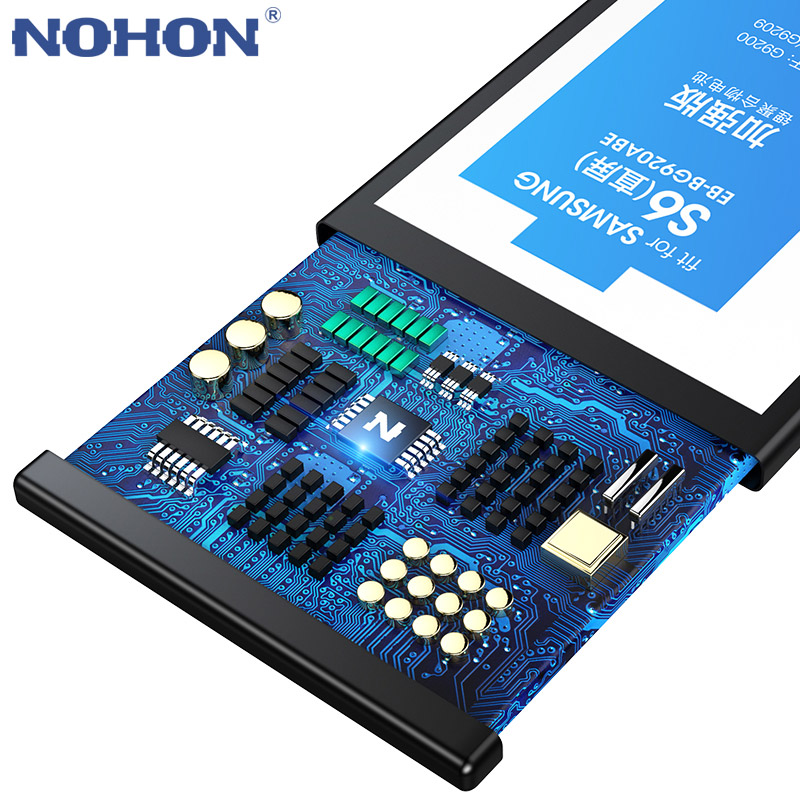 Image 4 - Original NOHON Battery For Samsung Galaxy S5 S6 S7 S6 Edge S7 Edge G900S SM G9200 SM G9280 SM G9300 SM G9350 Replacement Bateria-in Mobile Phone Batteries from Cellphones & Telecommunications