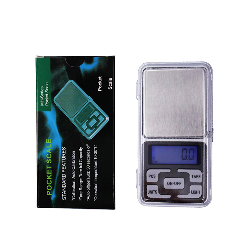 Electronic Digital Pocket Jewelry Kitchen Weight Scale 1000g 1kg 0.1g with retail box 20% OFF huangshan 1000g