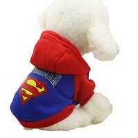 T caliente mascotas perro sudaderas con capucha perro de lana abrigos chaqueta Para Chihuahua maltés disfraz de gato Perros Ropa Para Perros XS-XXL Ropa