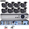 GADINAN 8CH 4MP AHD DVR Home Outdoor CCTV Kit With 8PCS AHD 3MP 2048 1536 Surveillance