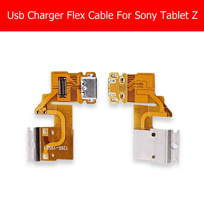 100% Genuine New USB Charging Connector Flex Cable For Sony Tablet Z Sgp 341 331 312 USB Charger Flex Cable Replacement Repair