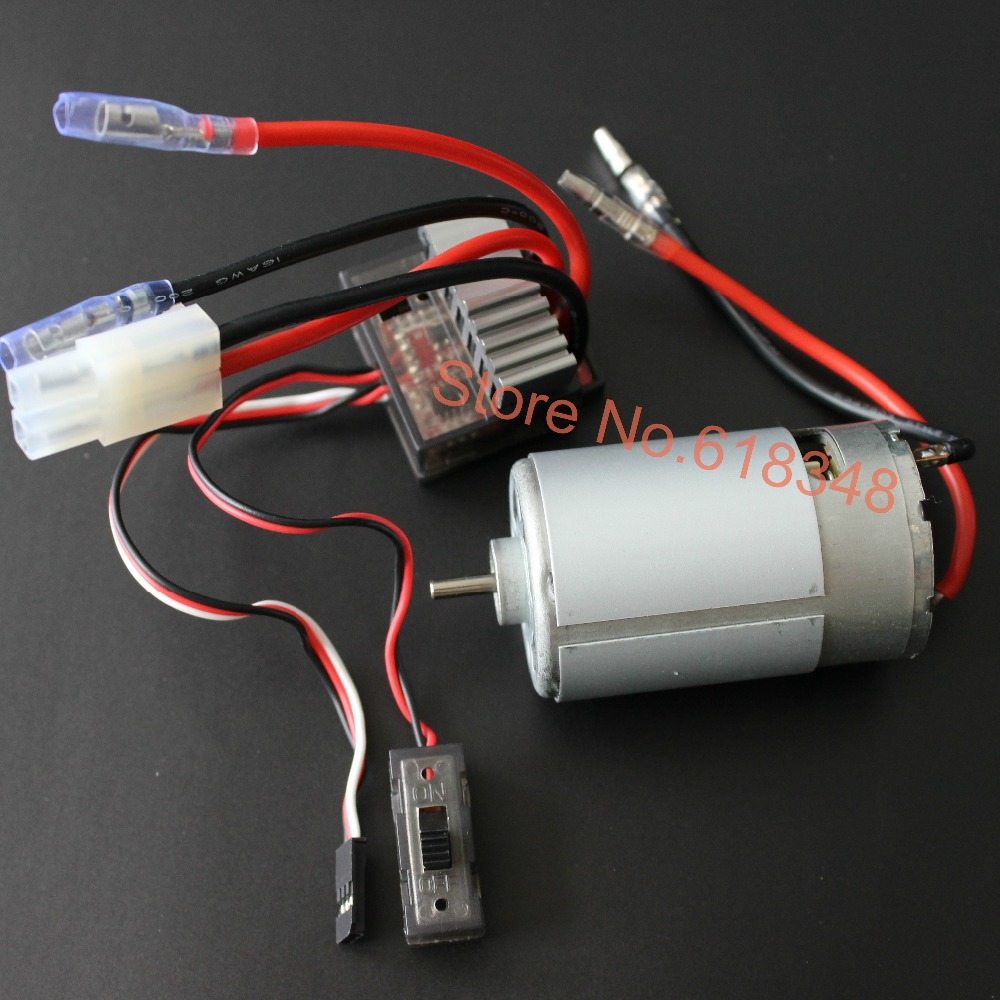 1 Set 320A Brush ESC+ 550 Motor 03011 RS550 26 Turn HSP 1/10 Brushed Electric Engine Motor Brush For Powerful Than RS540 03011 rs540 26 turn 540 motor rc car hsp 1 10 scale models brushed electric motor brush for himoto redcat remote control cars
